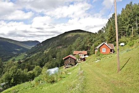 Cabin on a Eco farm - B&B Skifterud