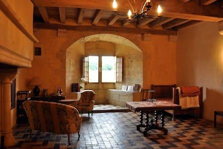 Chambre au Château de Rosières - Saint-Seine-sur-Vingeanne - Bed & Breakfast