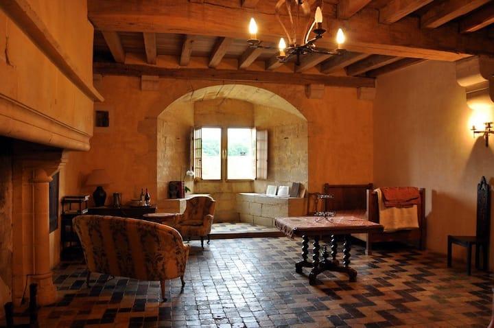 Chambre au Château de Rosières