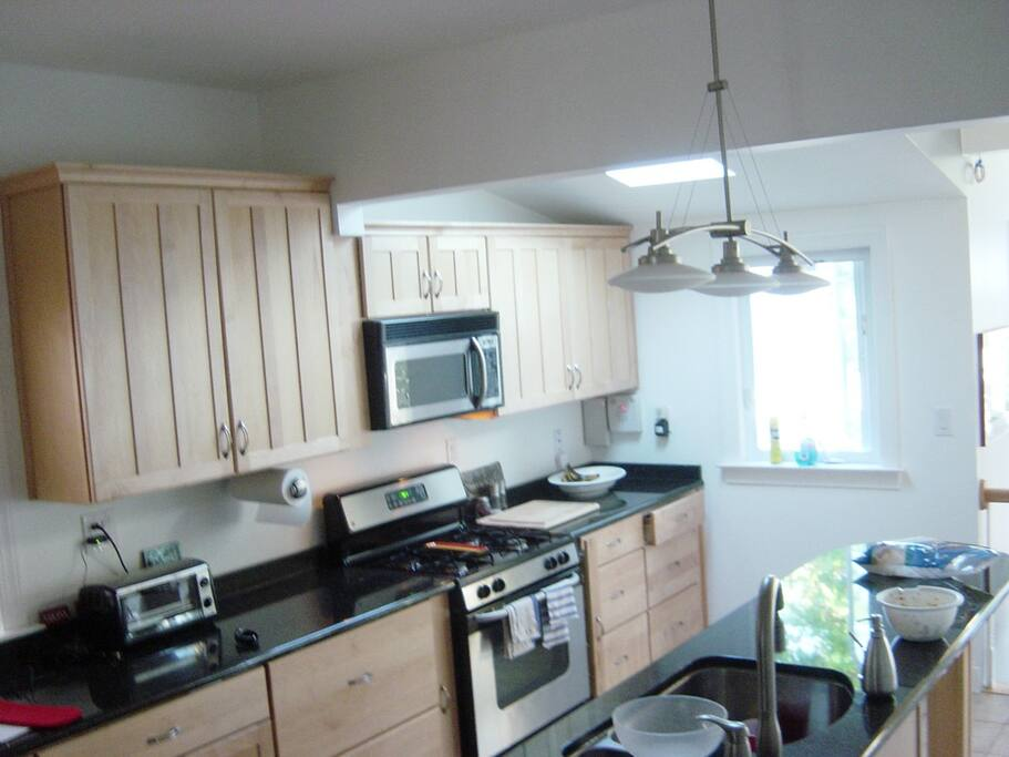 Recently renovated kitchen.