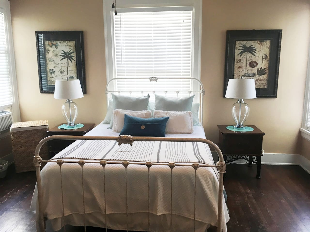 Palm room features one queen bed
