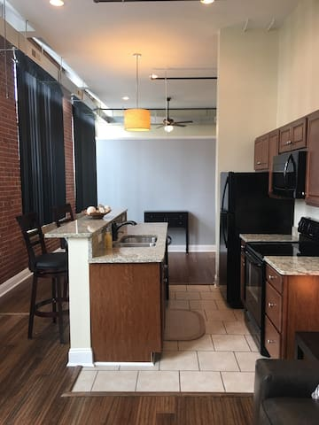 Modern Midtown Lynchburg Loft w/ a Pool!