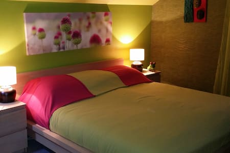 Greeny, large confortable room - Luxemburg