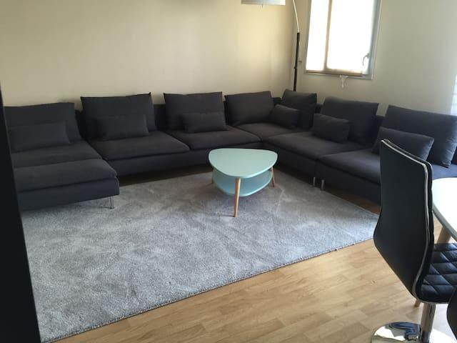 Spécial Euro2016 Spacieux & Moderne - Loos - Apartamento