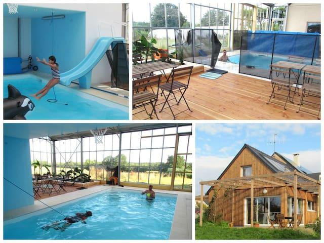 gite campagne et piscine NANTES - Héric - Casa