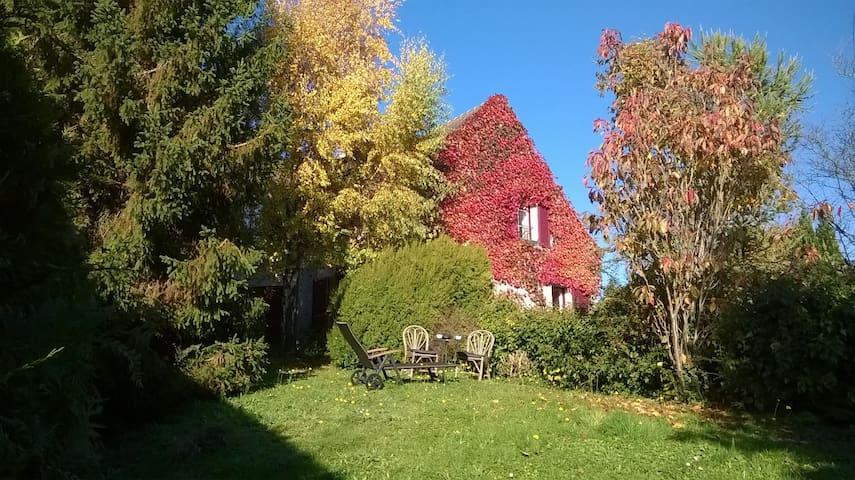 Chambre double à l'orée de la forêt - Chaumontel - Rumah