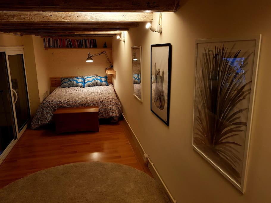 artworks in the bedroom