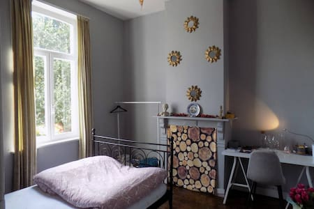 A room with parkview for a single person