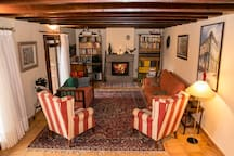 The living room/El salón