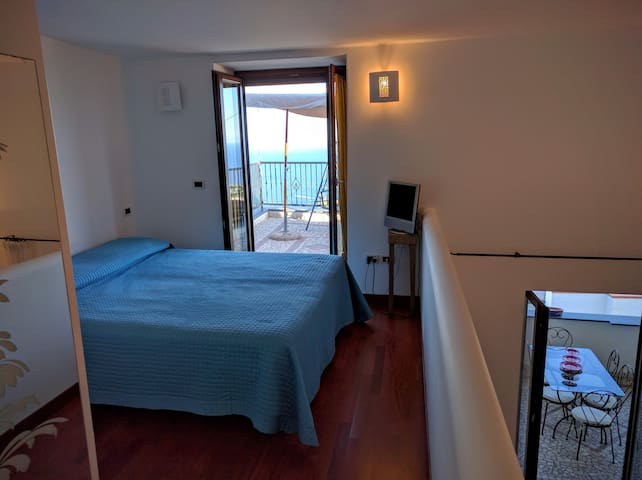 Loft Allegria 4 posti letto 2 terrazzi panoramici - Serrara Fontana