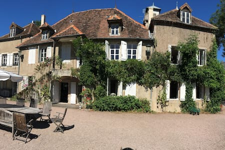 Family or friends home in Burgundy - Laizy - Schloss