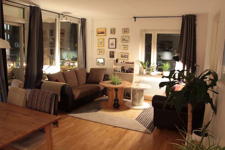 Spacious and cozy appartment near SLU/Ultuna