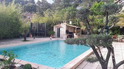 Our room  in Provence ( cicada & turtles )