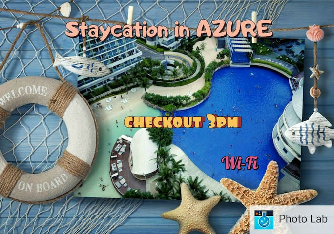 Azure: amenity View 3pm checkout! Enjoy after work - Paranaque - Apartment