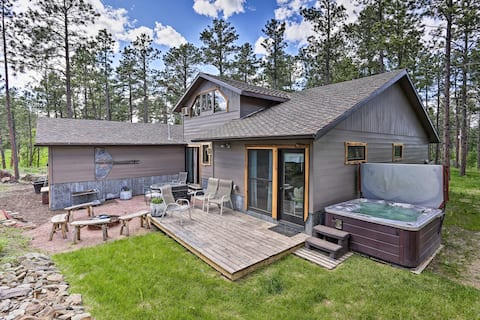 NEW! Rapid City Cabin 12 Miles to Mount Rushmore!