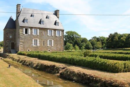 Château la Sémondière chbre Louis XV - Brécey