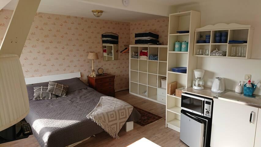 Gezellig en zonnig appartement met dakterras!