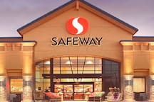 Safeway grocery store 3 minutes away.  Wholesale Costco is 7 minutes away