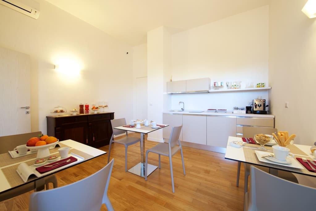 B b mom stanza doppia ambra pernottamento e colazione for Stanze in affitto bari