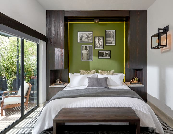 Lovely Suite with Private Terrace in Coyoacan