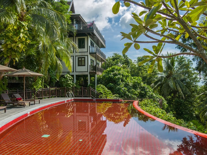 Seaview Villa within a 5-Star branded Resort