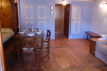 Tipica casa montana tradizionale walser - Rima San Giuseppe