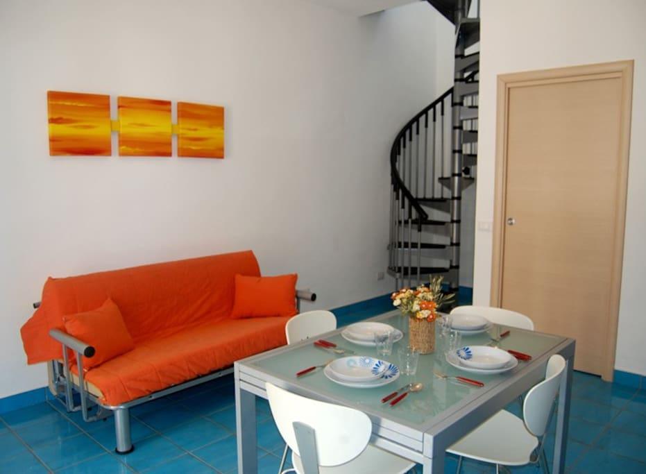 Zona living/soggiorno