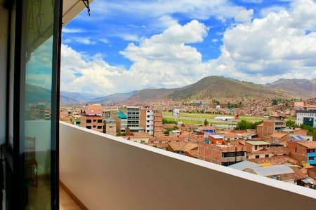 Habitación doble en 7mo piso con vista maravillosa - Cusco