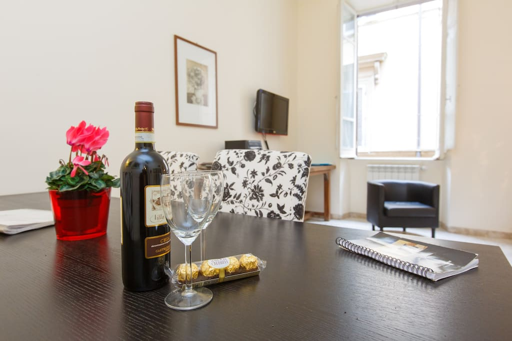 Welcome you in this cosy apartment in the center of Rome
