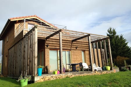 Chambre dans une maison de bois - Charnay-lès-Mâcon