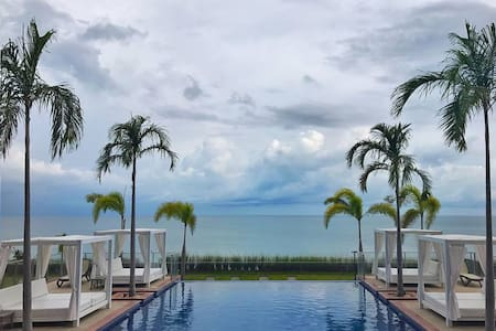 Dreamy Beachfront Condo in Paradise (Palmar beach)