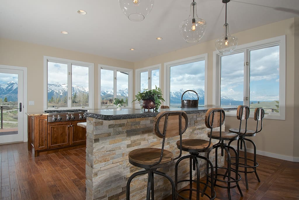 Grand views from a grand kitchen!