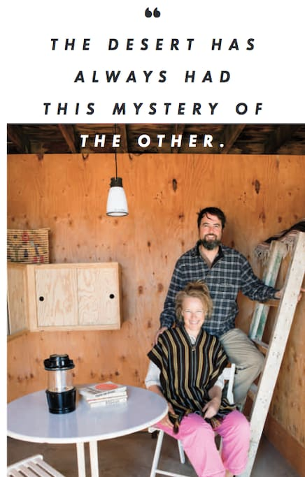 This cabin in Sunset Mag (hi Stephanie & Jay!)