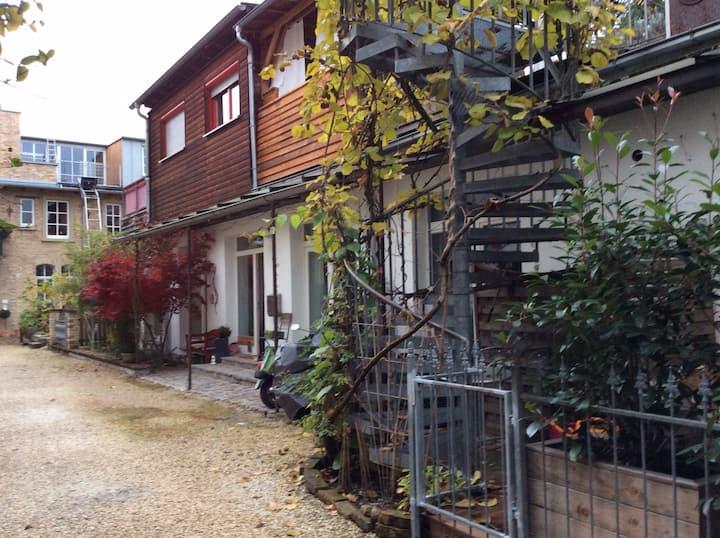 Hinterhof-Idylle Karlsruhe Südstadt