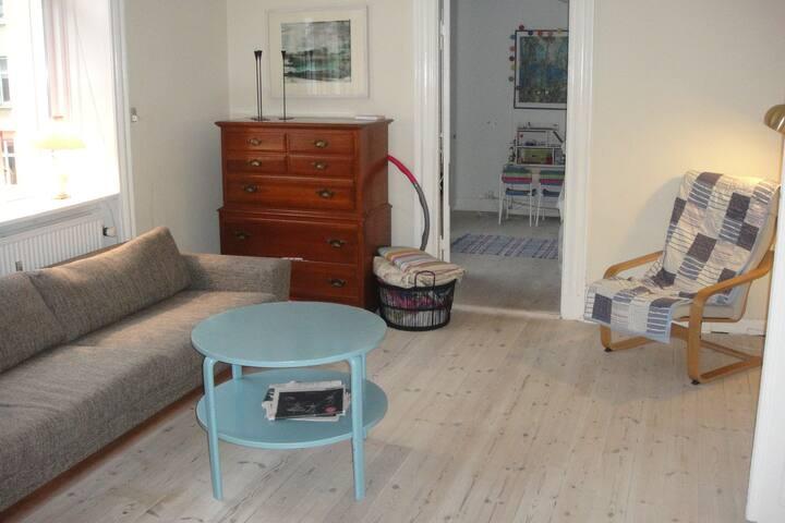 Spacious livingroom