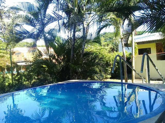 House w yard,300 meters from beach
