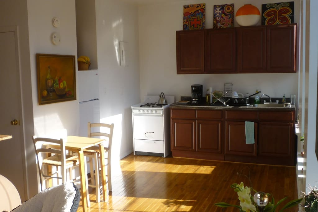 Spacious Kitchen and Dining Area. Very Peaceful and Quiet.