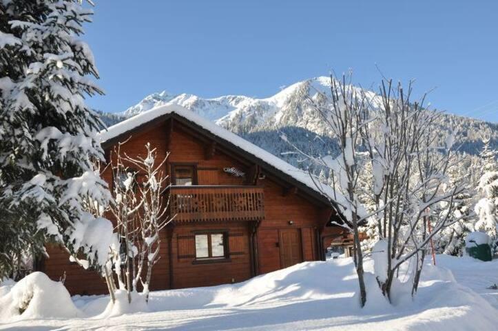 Chalet du Saix avec sauna - La Chapelle-d'Abondance - Chalet