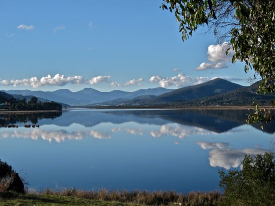 Reflections on the Huon River