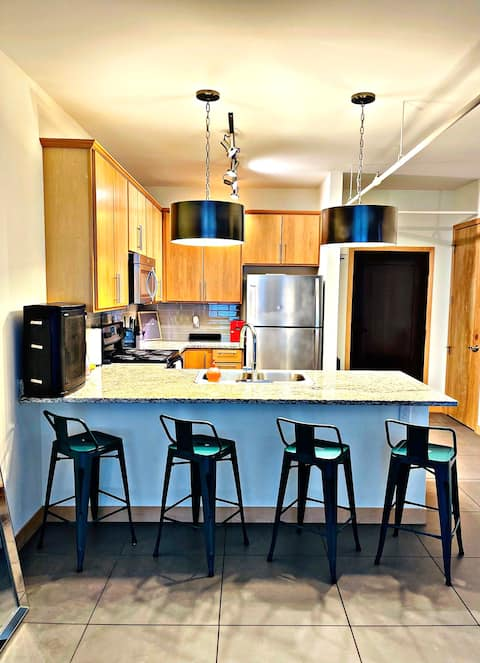 Dreamy downtown upscale loft. 3 min from arch!