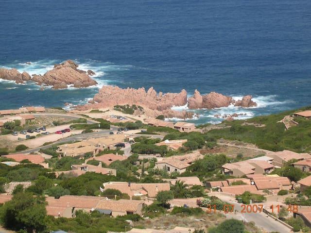Spendida vista su mare e rocce - Costa Paradiso - Leilighet