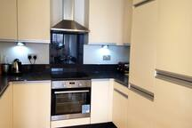 You will share the kitchen with all mod cons, dishwasher, washing machine, fridge / freezer
