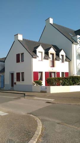 Maison F3 5pers près de la plage