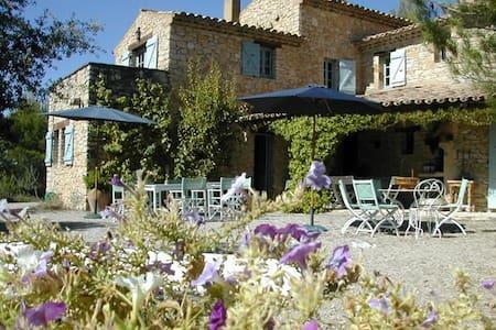 Charming quiet Mas in the vineyards - Roaix - วิลล่า