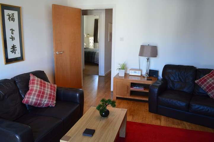 Spacious Apartment in Aberdeen's leafy West End