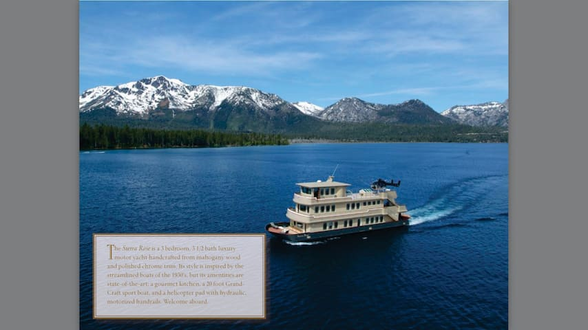 Experience World-Class Luxury on Scenic Lake Tahoe - South Lake Tahoe - Barco