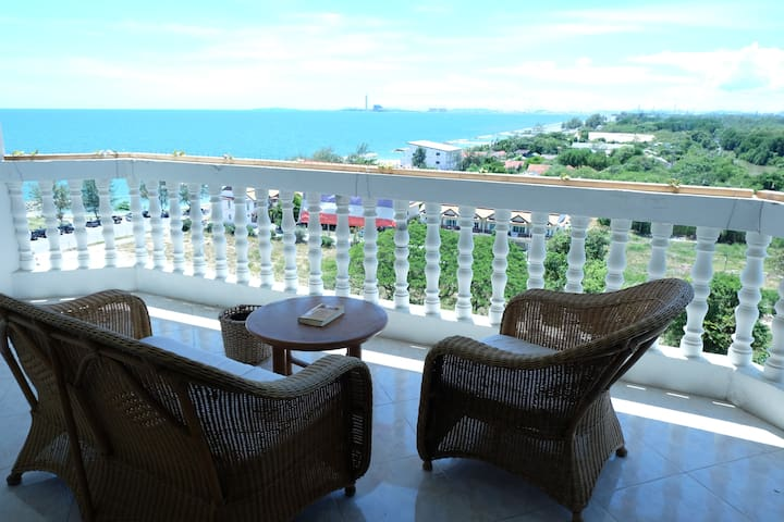 SEA SAND SUN Beachfront condo @ rayong thailand - Rayong - Appartement