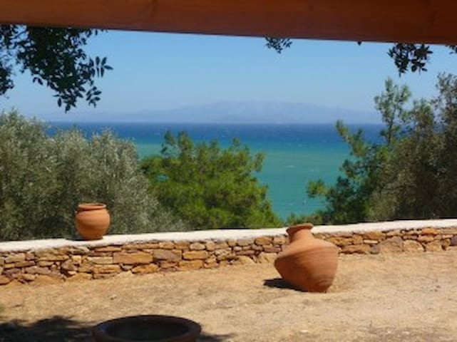 Chios - Great sea view charming villa