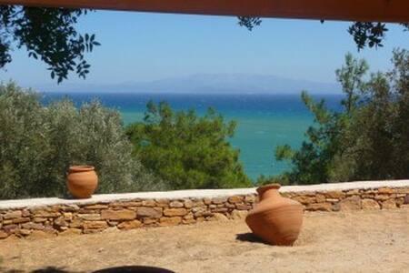 Chios - Great sea view charming villa