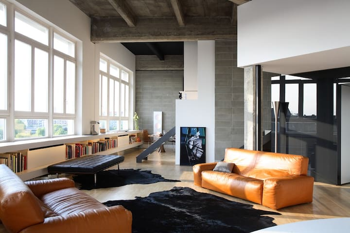 LOFT in TORINO  with Roof Terrace - Turin - Loft